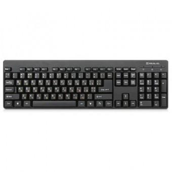 Зображення Клавіатура REAL-EL 502 Standard, USB, black
