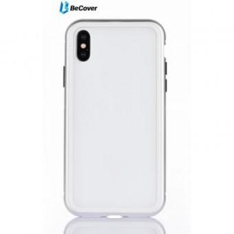 Изображение Чехол для телефона BeCover Magnetite Hardware iPhone X White (702941)