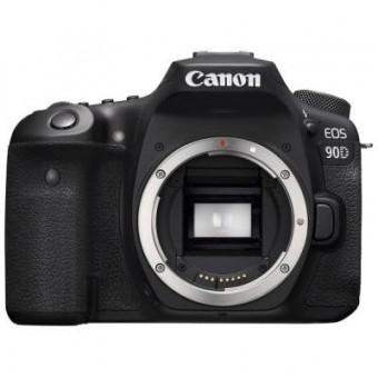 Изображение Цифровая фотокамера Canon Цифровой фотоаппарат  EOS 90D Body (3616C026)