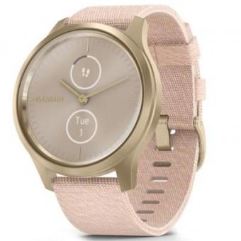 Изображение Smart часы  vivomove Style, S/E EU, Light Gold, Blush Pink, Nylon (010-02240-22)