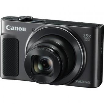 Зображення Цифрова фотокамера Canon Powershot SX620 HS Black (1072C014)