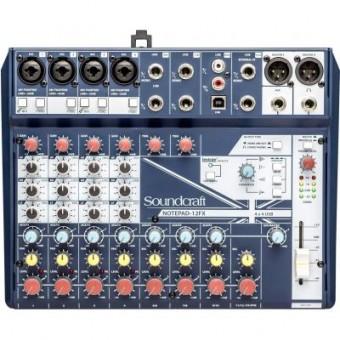 Изображение Акустическая система Soundcraft Notepad-12FX