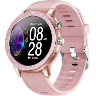 Зображення Smart годинник Gelius Pro GP-SW005 (NEW GENERATION) (IP67) Pink/Gold (Pro GP-SW005 (NEW GENERATION) Pink/Gold)