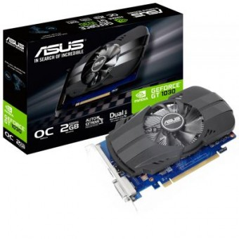 Зображення Asus GeForce GT1030 2048Mb OC (PH-GT1030-O2G)