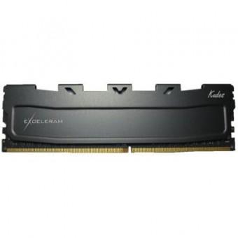 Изображение Модуль памяти для компьютера Exceleram DDR3L 8GB 1600 MHz Black Kudos  (EKBLACK3081611LA)