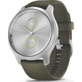 Изображение Smart часы  vivomove Style, Silver, Moss, Silicone (010-02240-21)