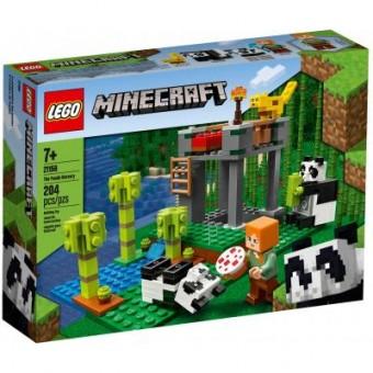 Изображение Конструктор Lego  Minecraft Питомник панд 204 детали (21158)