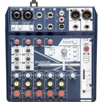 Изображение Акустическая система Soundcraft Notepad-8FX