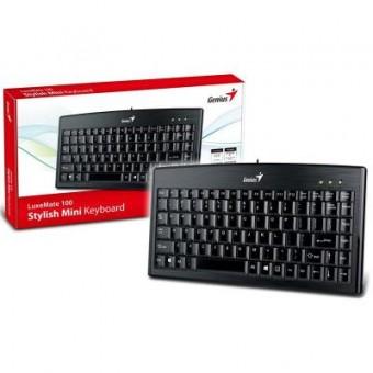 Зображення Клавіатура Genius LuxeMate 100 USB Ukr (31300725104)