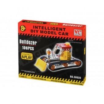 Изображение Конструктор Same Toy Конструктор  Inteligent DIY Model Car Бульдозер 106 эл. (58035Ut)