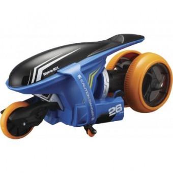 Изображение Радиоуправляемая игрушка Maisto Мотоцикл Cyklone 360 синий (82066 blue)