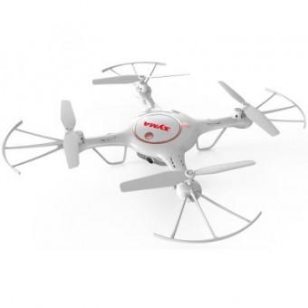 Изображение Радиоуправляемая игрушка Syma Квадрокоптер с 2,4 Ггц и поворотной FPV-камерой 32 см (X5UW-D_white)