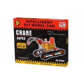 Изображение Конструктор Same Toy Конструктор  Inteligent DIY Model Car Кран 94 эл. (58032Ut)