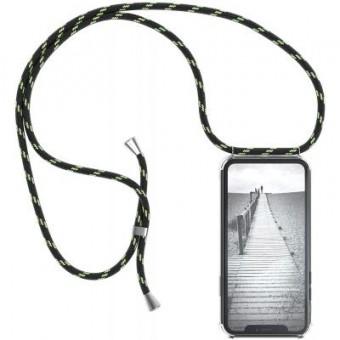 Изображение Чехол для телефона BeCover Strap Apple iPhone 11 Black-Green (704242)