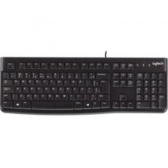 Зображення Клавіатура Logitech K120 Ru (920-002506)