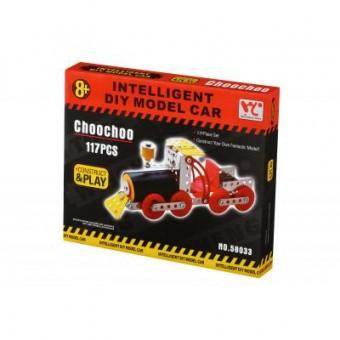 Зображення Конструктор Same Toy Конструктор  Inteligent DIY Model Car Паравоз 117 эл. (58033Ut)