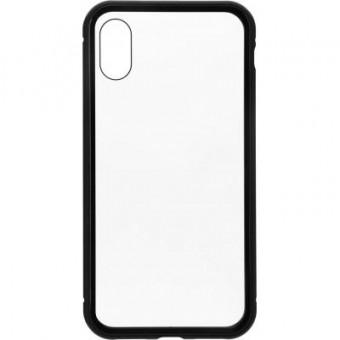 Изображение Чехол для телефона Armorstandart Magnetic Case 1 Gen. iPhone XS Clear/Black (ARM53386)
