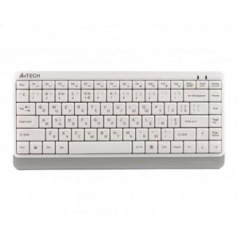 Зображення Клавіатура A4Tech FK11 Fstyler Compact Size USB White (FK11 USB (White))