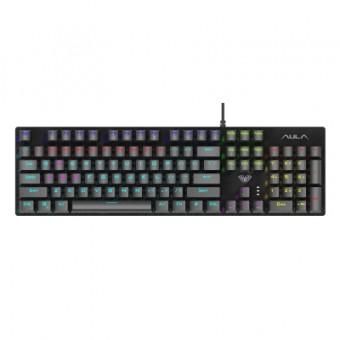 Зображення Клавіатура  Retribution Mechanical Keyboard EN/RU Blue switch (6948391240329)