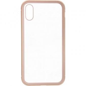Изображение Чехол для телефона Armorstandart Magnetic Case 1 Gen. iPhone XS Clear/Gold (ARM53385)