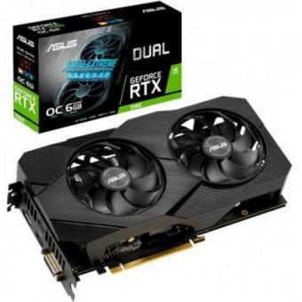 Изображение Asus GeForce RTX2060 6144Mb DUAL OC EVO (DUAL-RTX2060-O6G-EVO)