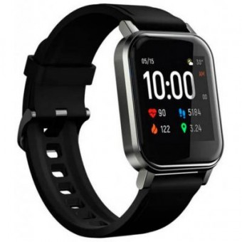 Изображение Smart часы Xiaomi HAYLOU Smart Watch 2 (LS02) Black (Haylou-LS02)