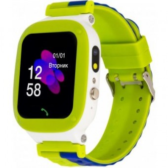 Изображение Smart часы ATRIX iQ2200 IPS Cam Flash Green