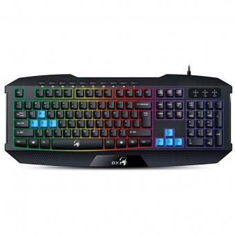 Зображення Клавіатура Genius Scorpion K215 Black UKR USB (31310474105)