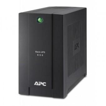 Изображение Источник бесперебойного питания APC Back-UPS 650VA, Schuko (BC650-RSX761)