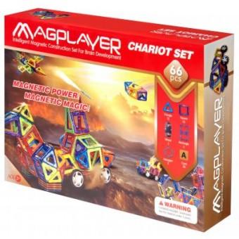 Изображение Конструктор Magplayer Конструктор  Набор 66 элементов (MPA-66)