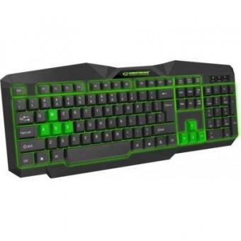 Зображення Клавіатура Esperanza EGK 201 Green USB LED