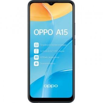 Зображення Смартфон Oppo A15 2/32Gb Black