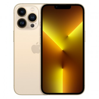 Зображення Смартфон Apple iPhone 13 Pro 128GB Gold (MLVC3)