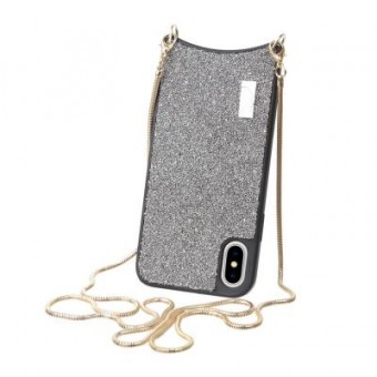 Изображение Чехол для телефона BeCover Glitter Apple iPhone X/Xs Silver (703644) (703644)