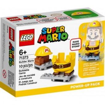 Зображення Конструктор Lego  Super Mario Марио-строитель набор усилений 10 деталей (71373)