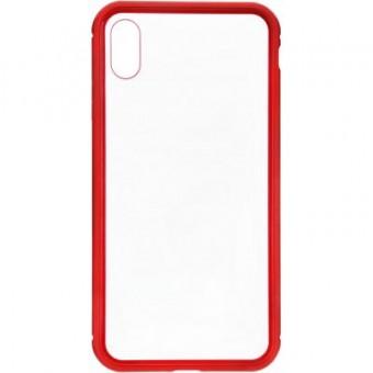 Изображение Чехол для телефона Armorstandart Magnetic Case 1 Gen. iPhone XS Max Clear/Red (ARM53391)